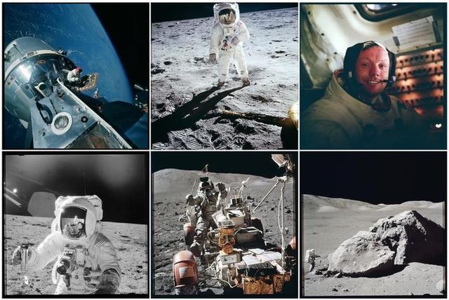 Imágenes de archivo de misiones de la NASA a la Luna.  Reuters/NASA/entrega vía Reuters. ATENCIÓN EDITORES: ESTA IMAGEN FUE ENTREGADA POR UNA TERCERA PARTE.