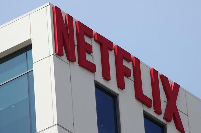IMAGEN DE ARCHIVO. El logo de Netflix en sus oficinas en Hollywood, Los Angeles.