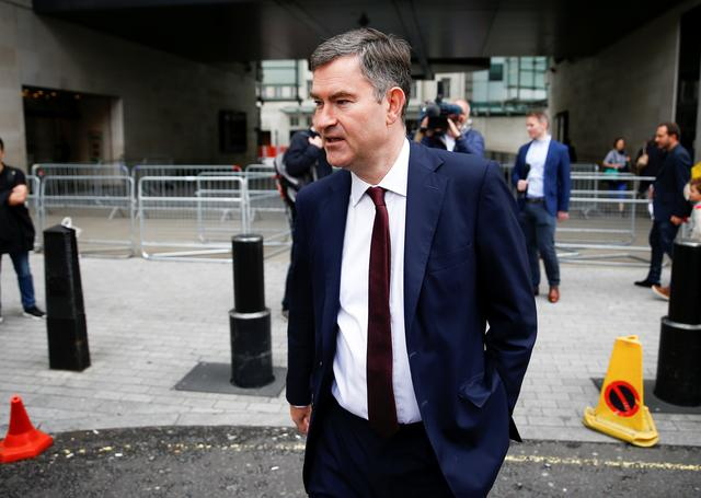 FILE PHOTO: Britain's Secretary of State for Justice David Gauke leaves the BBC headquarters after appearing on the Andrew Marr show in London, Britain July 7, 2019. REUTERS/Henry Nicholls/File Photo