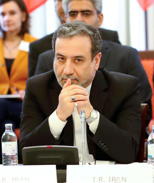 FILE PHOTO: Iran's top nuclear negotiator Abbas Araqchi attends a meeting of the JCPOA Joint Commission in Vienna, Austria, June 28, 2019.  REUTERS/Leonhard Foeger/File Photo