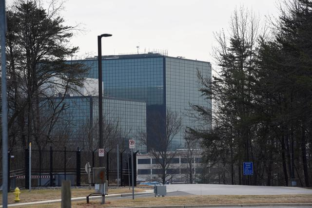 FILE PHOTO: The National Security Agency (NSA) headquarters is seen in Fort Meade, Maryland, U.S. February 14, 2018. REUTERS/Sait Serkan Gurbuz/File Photo