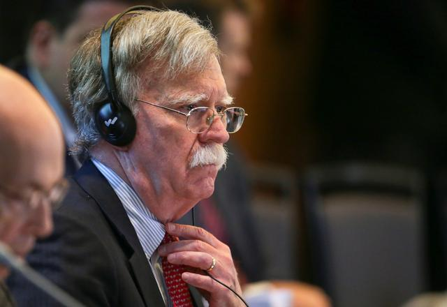U.S. National Security Adviser John Bolton attends a summit to discuss the political crisis in Venezuela, in Lima, Peru, August 6, 2019. REUTERS/Guadalupe Pardo