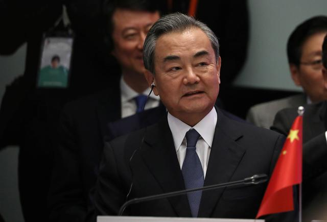 Chinese Foreign Minister Wang Yi attend the ASEAN Foreign Ministers' East Asia Summit Meeting in Bangkok, Thailand August 2, 2019. REUTERS/Athit Perawongmetha