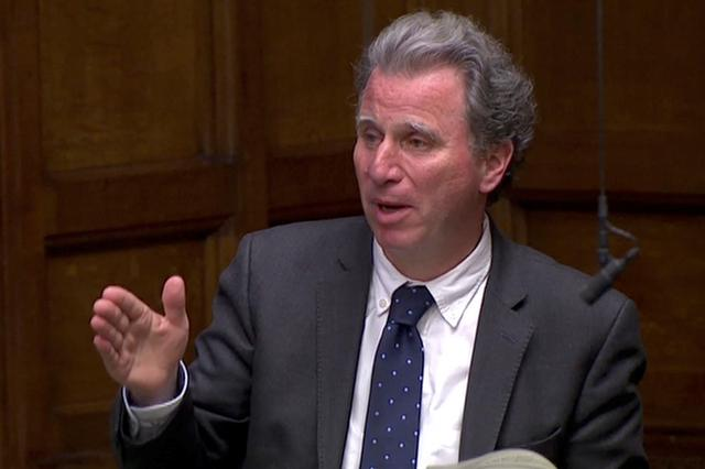 FILE PHOTO: British Conservative MP Oliver Letwin speaks in the Parliament in London, Britain April 3, 2019, in this screen grab taken from video. Reuters TV via REUTERS
