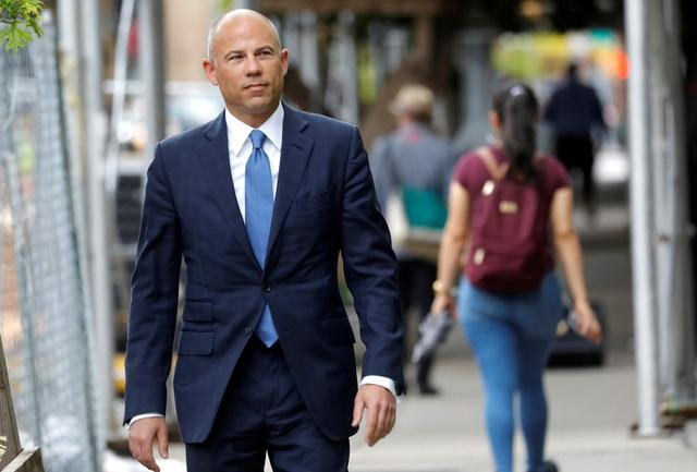 FILE PHOTO: Attorney Michael Avenatti arrives at United States Court in the Manhattan borough of New York City, New York, U.S., July 23, 2019. REUTERS/Mike Segar/File Photo