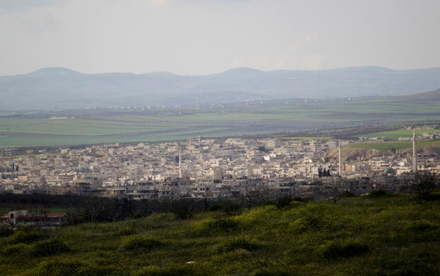 FILE PHOTO: A general view shows Khan Sheikhoun in the southern countryside of Idlib March 16, 2015. REUTERS/Khalil Ashawi/File Photo