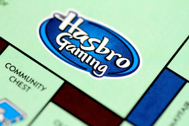 FILE PHOTO: A Monopoly board game by Hasbro Gaming is seen in this illustration photo August 13, 2017. REUTERS/Thomas White/Illustration