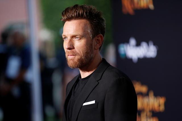 "FILE PHOTO: Actor Ewan McGregor poses at the world premiere of Disney's ""Christopher Robin,"" in Burbank, California, U.S., July 30, 2018. REUTERS/Danny Moloshok"