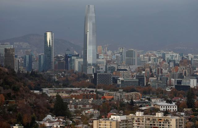 FILE PHOTO: A panoramic view of the city of Santiago, Chile June 6, 2019. REUTERS/Rodrigo Garrido