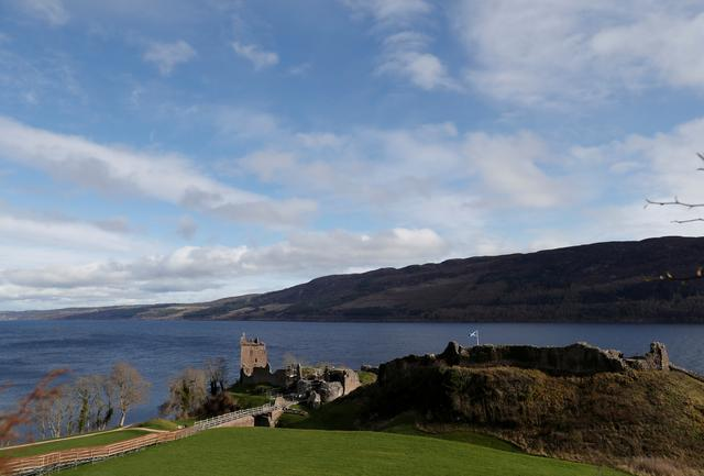 FILE PHOTO: Urquhart Castle stands on the banks of Loch Ness near Inverness, Scotland, Britain March 8, 2019. REUTERS/Russell Cheyne -/File Photo