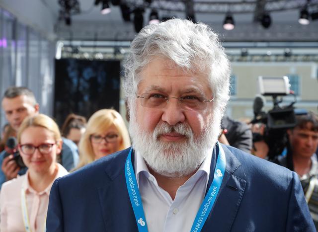 Ukrainian business tycoon Ihor Kolomoisky attends the Yalta European Strategy (YES) annual meeting in Kiev, Ukraine September 13, 2019. REUTERS/Valentyn Ogirenko