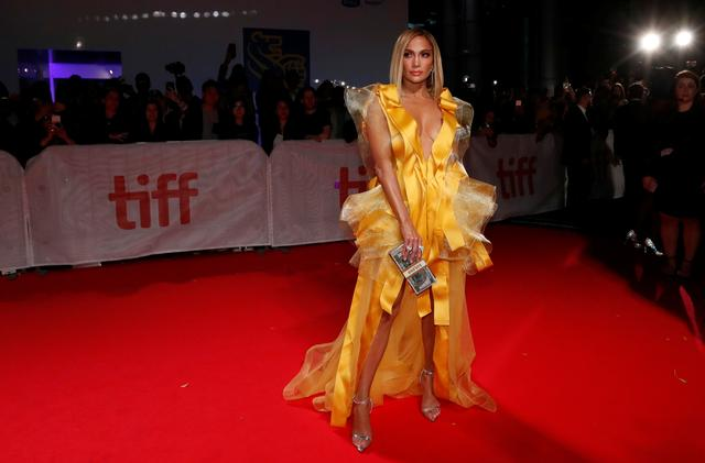 Cast member Jennifer Lopez arrives for the gala presentation of Hustlers at the Toronto International Film Festival (TIFF) in Toronto, Ontario, Canada September 7, 2019.  REUTERS/Mario Anzuoni