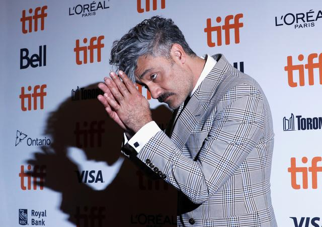 "Director Taika Waititi arrives at the world premiere of ""Jojo Rabbit"" at the Toronto International Film Festival (TIFF) in Toronto, Ontario, Canada September 8, 2019. REUTERS/Mario Anzuoni"
