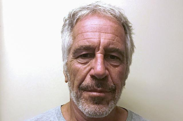 FILE PHOTO:  U.S. financier Jeffrey Epstein appears in a photograph taken for the New York State Division of Criminal Justice Services' sex offender registry March 28, 2017 and obtained by Reuters July 10, 2019.  New York State Division of Criminal Justice Services/Handout via REUTERS.