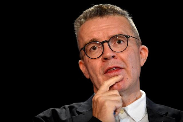 FILE PHOTO: Britain's Deputy Leader of the Labour Party Tom Watson speaks on Brexit at an event in London, Britain September 11, 2019. REUTERS/Toby Melville/File Photo