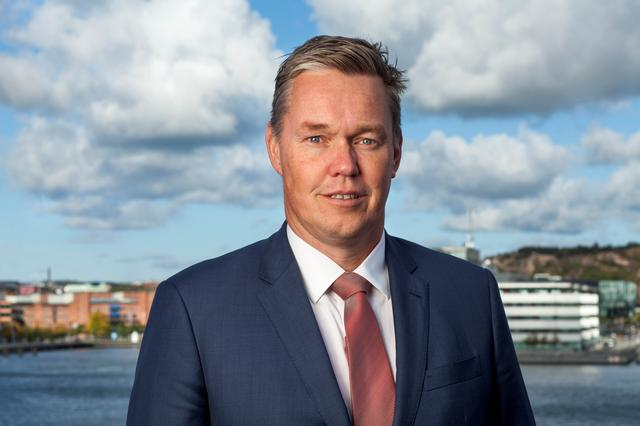 Stena Bulk's president Erik Hanell poses for a picture in Gothenburg, Sweden September 25, 2014. Picture taken September 25, 2014. DAN LJUNGSVIK/STENA BULK/via REUTERS