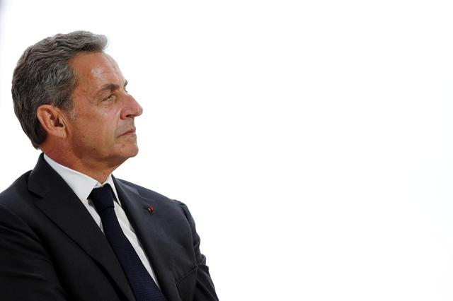 FILE PHOTO: Former French President Nicolas Sarkozy attends the MEDEF union summer forum at the Paris Longchamp racecourse in Paris, France, August 29, 2019. REUTERS/Benoit Tessier
