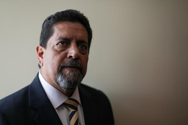 Edgar Zambrano, Vice President of Venezuela's National Assembly, poses for a picture after an interview with Reuters in Caracas, Venezuela October 2, 2019. Picture taken October 2, 2019. REUTERS/Manaure Quintero