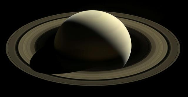 FILE PHOTO: One of the last looks at Saturn and its main rings as captured by the spacecraft Cassini in images taken October 28, 2016 and released September 11, 2017. NASA/JPL-Caltech/Space Science Institute/Handout via REUTERS