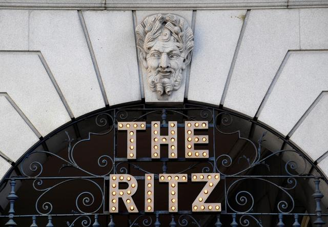 The Ritz London hotel is seen in Piccadilly, London, Britain, October 10, 2019.  REUTERS/Toby Melville