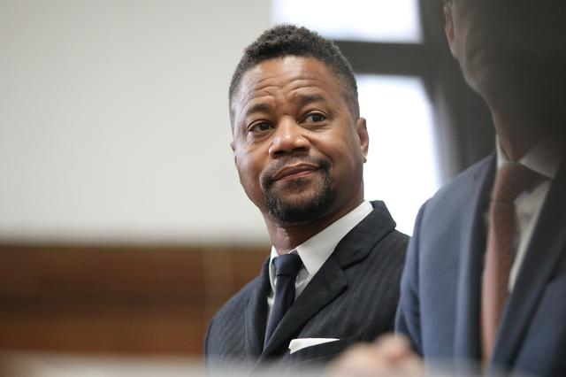 Actor Cuba Gooding Jr. appears in New York State Criminal Court in the Manhattan borough of New York, U.S.., October 10, 2019. Alec Tabak/Pool via REUTERS