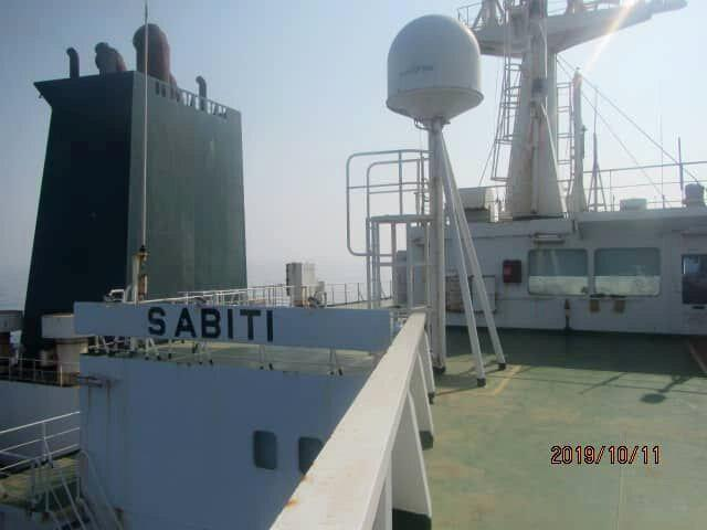 An undated picture shows the Iranian-owned Sabiti oil tanker sailing in Red Sea. National Iranian Oil Tanker Company via WANA (West Asia News Agency) via REUTERS ATTENTION EDITORS - THIS IMAGE HAS BEEN SUPPLIED BY A THIRD PARTY