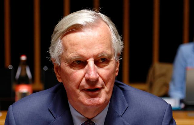 EU's Chief Brexit Negotiator Michel Barnier attends the General Affairs council addressing the state of play of Brexit, in Luxembourg October 15, 2019.  REUTERS/Francois Lenoir