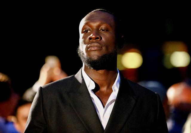 FILE PHOTO: British rapper Stormzy arrives to the GQ Men Of The Year Awards 2019 in London, Britain September 3, 2019. REUTERS/Henry Nicholls/File Photo