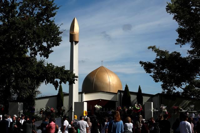 FILE PHOTO: A general view of Al-Noor mosque after it is reopened to the community in Christchurch, New Zealand March 23, 2019. REUTERS/Edgar Su