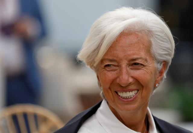 FILE PHOTO: International Monetary Fund Managing Director Christine Lagarde arrives for the Women's Forum Americas, at Claustro de Sor Juana University in Mexico City, Mexico, May 30, 2019. REUTERS/Carlos Jasso/File Photo