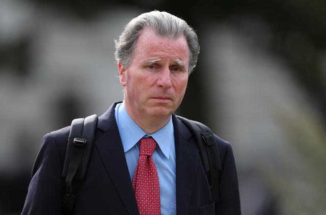 FILE PHOTO: British Conservative MP Oliver Letwin walks through Westminster in London, Britain, August 21, 2019. REUTERS/Hannah McKay
