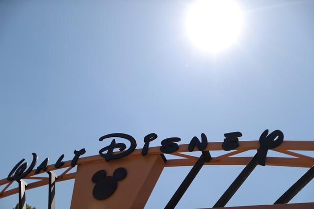 FILE PHOTO: The entrance to Walt Disney studios is seen in Burbank, California, U.S. August 6, 2018. REUTERS/Lucy Nicholson