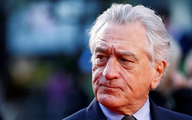 "FILE PHOTO: Cast member Robert De Niro arrives for the screening of ""The Irishman"" during the 2019 BFI London Film Festival at the Odeon Luxe Leicester Square in London, Britain October 13, 2019. REUTERS/Henry Nicholls"