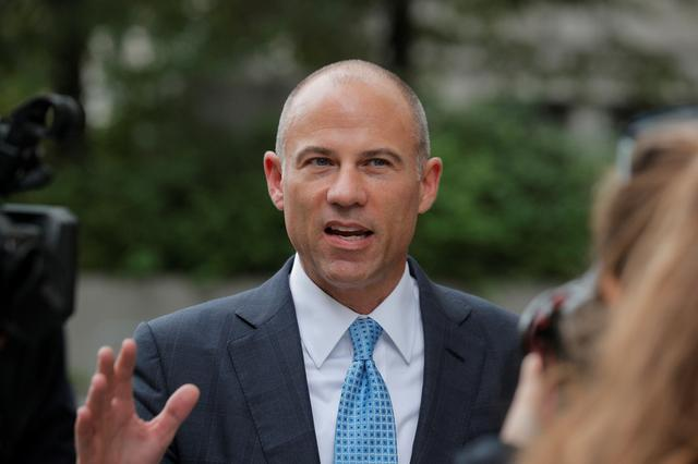 FILE PHOTO: Attorney Michael Avenatti exits the United States Courthouse in the Manhattan borough of New York City, U.S., October 8, 2019.  REUTERS/Brendan McDermid