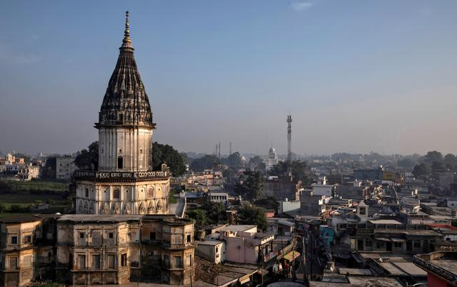 FILE PHOTO: A general view of Ayodhya city, India, October 22, 2019. REUTERS/Danish Siddiqui/File Photo