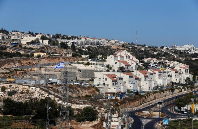 A general view shows the Jewish settlement of Kiryat Arba in Hebron, in the occupied West Bank September 11, 2018. Picture taken September 11, 2018. REUTERS/Mussa Qawasma - RC14BC22BB50
