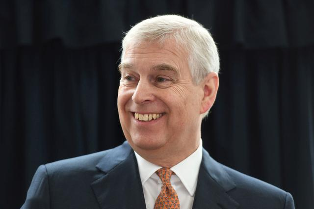 FILE PHOTO: Britain's Prince Andrew, Duke of York visits the Royal National Orthopaedic Hospital to open the new Stanmore Building, in London, Britain March 21, 2019. David Mirzoeff/ Pool via REUTERS/File Photo