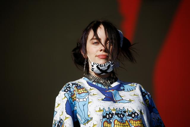 FILE PHOTO: American singer Billie Eilish performs on the Other Stage during Glastonbury Festival in Somerset, Britain June 30, 2019. REUTERS/Henry Nicholls
