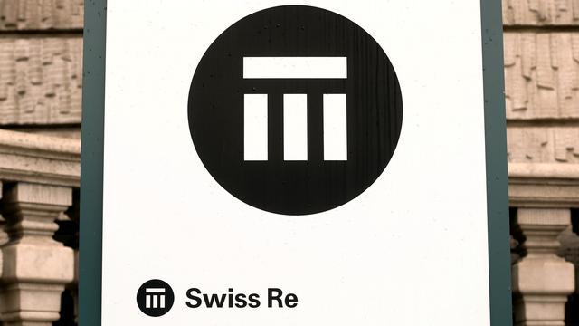 The logo of Swiss insurer Swiss Re is seen in front of its headquarters in Zurich, Switzerland, September 23, 2015. REUTERS/Arnd Wiegmann