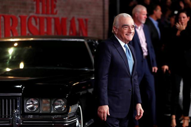 "FILE PHOTO: Director Martin Scorsese arrives for the premiere of film ""The Irishman"", in Los Angeles, California, U.S. October 24, 2019. REUTERS/Mario Anzuoni"