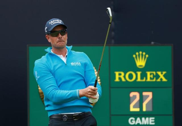 FILE PHOTO: Golf - The 148th Open Championship - Royal Portrush Golf Club, Portrush, Northern Ireland - July 20, 2019  Sweden's Henrik Stenson on the 1st hole during the third round  REUTERS/Ian Walton/File Photo