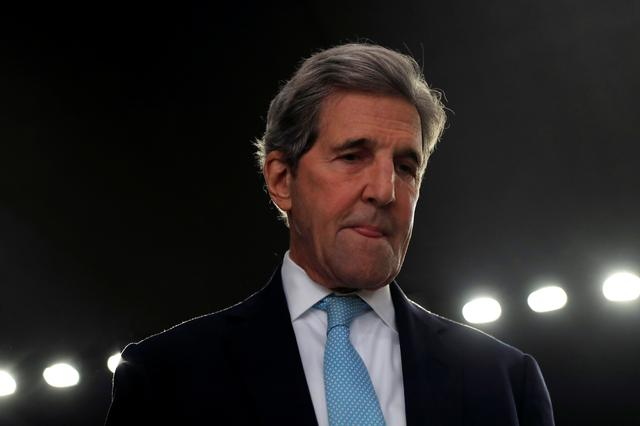 Former U.S. Secretary of State John Kerry is pictured during the U.N. Climate Change Conference (COP25) in Madrid, Spain, December 10, 2019. REUTERS/Susana Vera