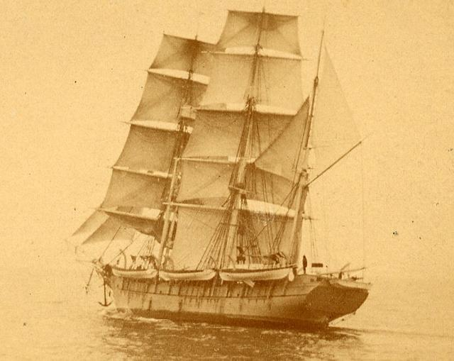 Undated Handout photograph of 19th century whaling ship the Fleetwing. New Bedford Whaling Museum/Handout via REUTERS