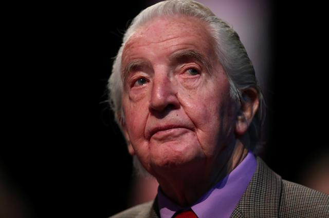 Labour Party MP Dennis Skinner attends his party's conference in Liverpool, Britain, September 25, 2018. REUTERS/Hannah McKay