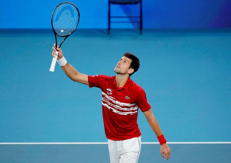 Djokovic Leads Serbia To Atp Cup Glory Reuters