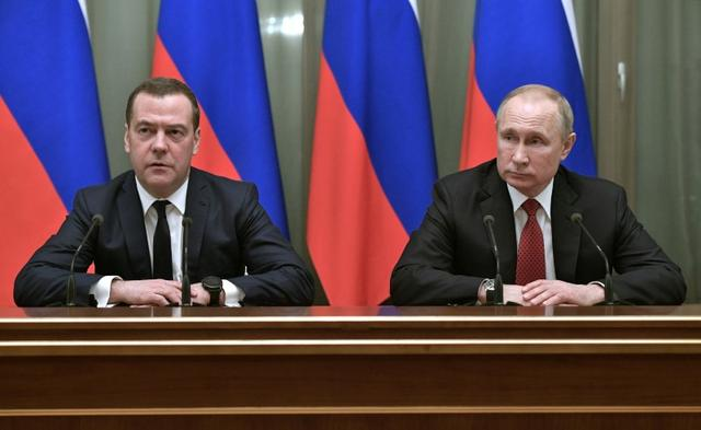 Russian Prime Minister And Government Resign After Putin Speech
