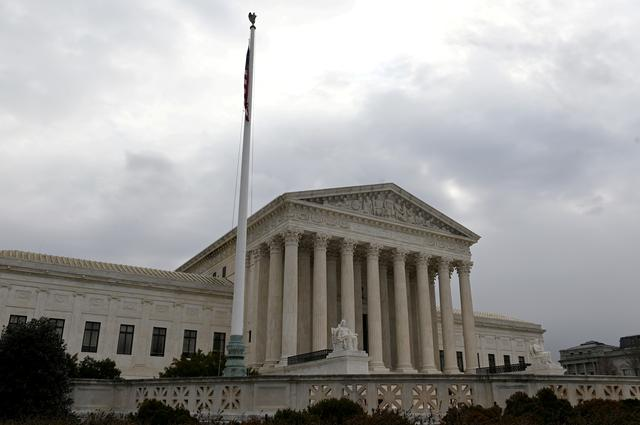 FILE PHOTO: The building of the U.S. Supreme Court is pictured in Washington, U.S., March 18, 2019. REUTERS/Erin Scott/File Photo