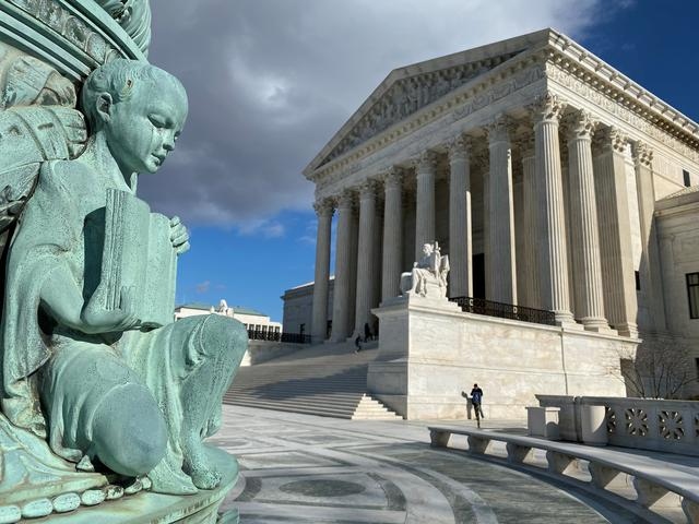 The buliding of the U.S. Supreme Court is pictured in Washington, D.C., U.S., January 19, 2020. REUTERS/Will Dunham