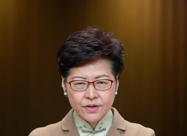 FILE PHOTO - Hong Kong Chief Executive Carrie Lam attends a news conference in Hong Kong, China January 7, 2020. REUTERS/Navesh Chitrakar