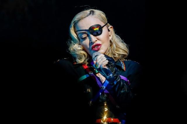 FILE PHOTO: Madonna performs at the 2019 Pride Island concert during New York City Pride in New York City, New York, U.S., June 30, 2019. Picture taken June 30, 2019. REUTERS/Jeenah Moon - RC15A8860790